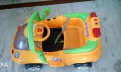 my remote control yeallow car in only rs4000 , 1 year
