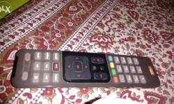 Airtel dth remote for controlling setup box to change