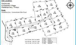 Prime Residential Plots for sale at wadakkanchery,