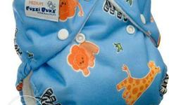 Reusable Cloth Diapers for Kids. Plain: 895/- Printed