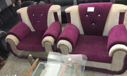 Rich looking sofa set at very affordable price just pay