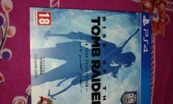 Rise of the tomb raider PS4 Exchange available