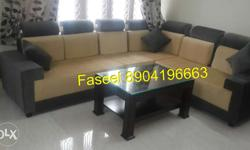 corner sofa set 2+2+1+corner with 3 year warranty