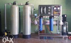 RO Reverse Osmosis Plant for water filtration. this is