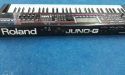 Roland juno G in excellent condition,only display is