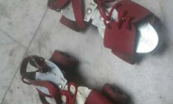 Roller skates and is in very good working condition.