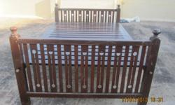 ವಿವರಣ� Rose wood cot and rose wood chairs
