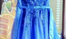 Kid's Blue Dress