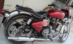 Royal Enfield(Electra-350) Red color