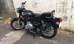 Royal Enfield bullet in good condition less used.