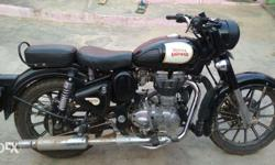 Bike is neat and clean with single hand and nota single