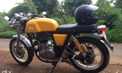 ROYAL ENFIELD Continental GT Model: 2015 Colour: Sport