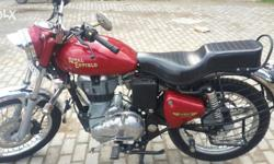 Royal Enfield Electra 350cc red colour very good