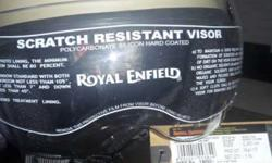 Royal enfield helmet og nt used 1 day also just grab it