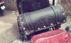 Royal Enfield leather pouch,Suitable for any bikes and