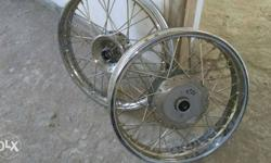 Royal enfield new rim for sail. Only 200 km run