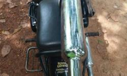 Royal enfield original silencer Never used With guard