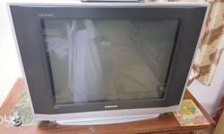 Samsung 29 inch TV with vcd player and TV self good