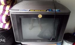 Samsung 29 inch Box TV with Woofer in Good Condition