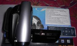 I bought a Samsung DVD camcorder at march -2011, Model