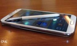 Samsung Galaxy note 2 with stylus Spen Mobile only