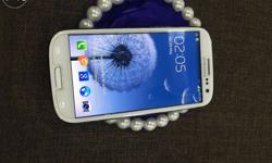 Samsung Galaxy S3 I9300 Marble White Color Mint