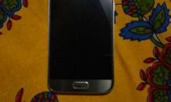 Samsung galaxy S7 Silver titanium Black spot on home