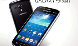 Samsung galaxy sduos 2 black