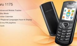 Brand New samsung guru gt e1175t on sell at 1000/- with