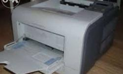 This is Samsung heavy duty laser printer, it can
