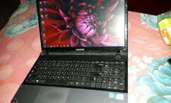 Samsung new condition i3 laptop 4hour +battery backups