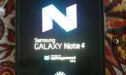 Samsung note4 with box and all Assesry
