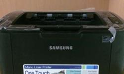 samsung laser printer.two years old .brand new