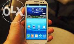 Samsung s3 good condition used abow 9 month