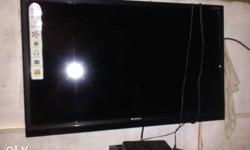 Wall-mounted Flat Screen TV .Bill is available.good