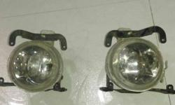 Santro xing fog lamps yellow colour in good n working
