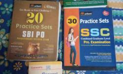 SBI PO IBPS PO and SSC Practice sets and lucent GK