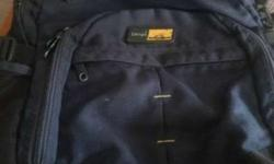 School Bag Dark blue 1month used
