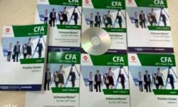 Schweser all level CFA and FRM. (CALL 09.6.816.131.66)