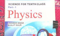 Physics: Science for 10th Class Part 1 Pub: S.Chand