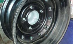 Scorpio car wheel disc with cover in manufacturing