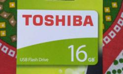 Sealed pack toshiba pendrive brand new 16GB