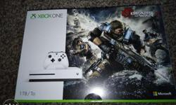 I have a brand new XBox One S 1TB Gears Of War 4 Bundle