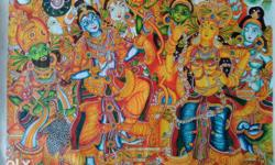 Type: Mural Painting Medium: Acrylic Paint On High