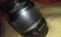 Sell canon lens 18-55 good condtio urjent sell