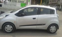 2012 Beat LS Silver Colour Pure Petrol 50000 Km Used