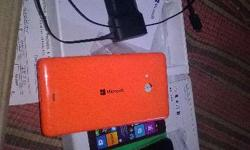 Sell my Lumia 535 with six month warranty with two