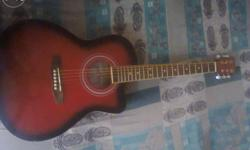 Awsome guitar very low price without use it with bag