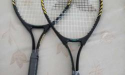 selling brand new vector x tennis raquets for 2500.. no