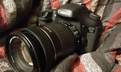 selling Canon 7D for 45000 rupees. The camera comes